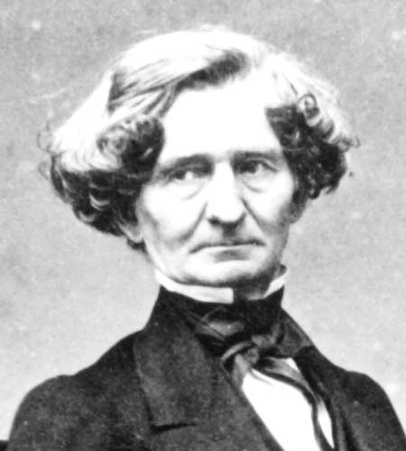 French Romantic composer Hector Berlioz was an habitual opium user. He is most famous for his orchestral work Symphonie fantastique. - hector-berlioz