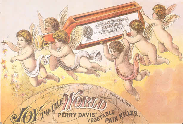 pictures of Perry Davis' 'Pain Killer'